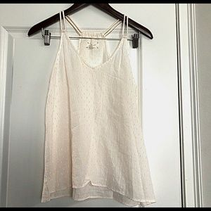 Lou & Grey Embroidered Cotton Tank Top